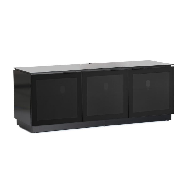 Mmt D1500 Large Black Gloss Tv Cabinet Main
